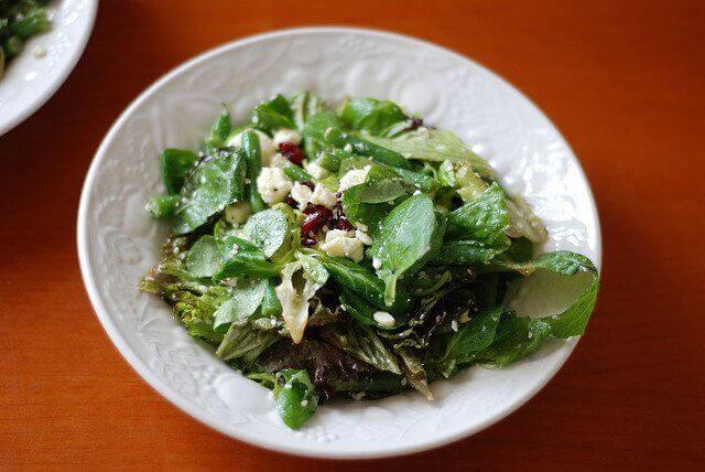 Salade met Waterkers