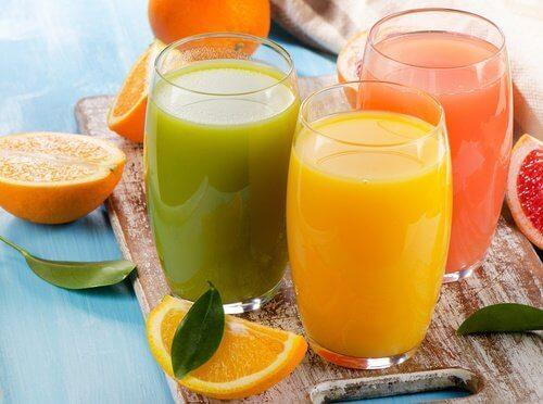 Smoothies voor gewichtsverlies en leverzuivering