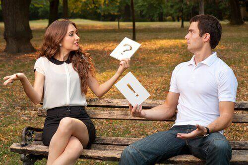 Communicatie als een van de vier kenmerken van een goede relatie