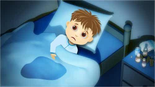 Kinderen die bedplassen: oorzaken en behandeling