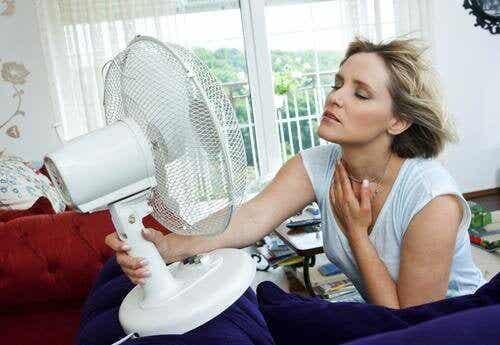 Opvliegers tijdens de menopauze