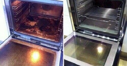 Je oven reinigen met natuurlijke producten