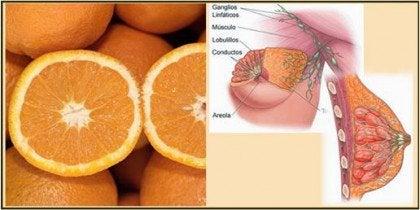Sinaasappel en Borst