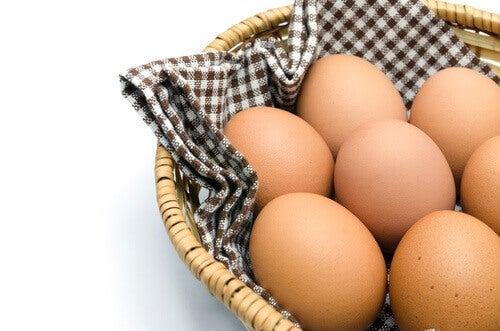 Vermoeidheid door vitaminetekort bestrijden met bijvoorbeeld eieren