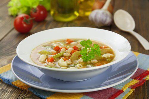 Een gezonde soep is geneeskrachtig