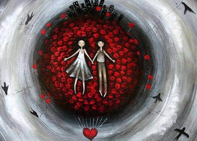 Rode draad van de liefde