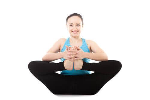Yogahouding voor je enkels