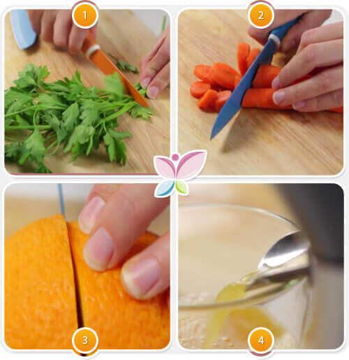 Wortel-Sinaasappelsap Maken