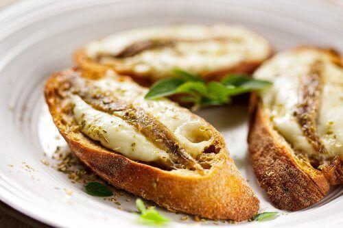 Stokbrood met Sardines