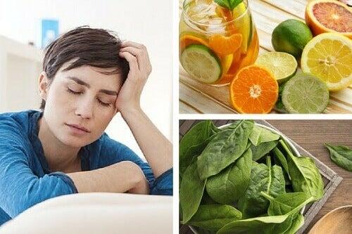 Vermoeidheid door vitaminetekort