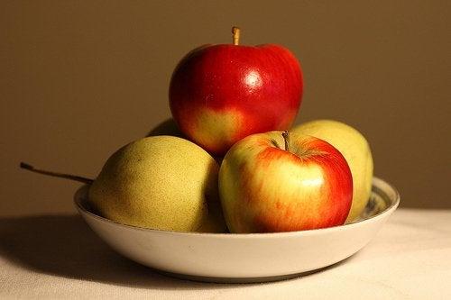 Schaal met Appels