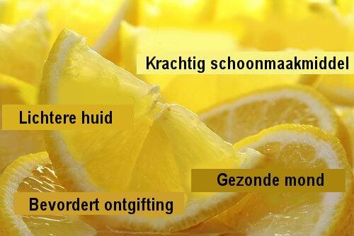 Verrassende manieren om citroen te gebruiken