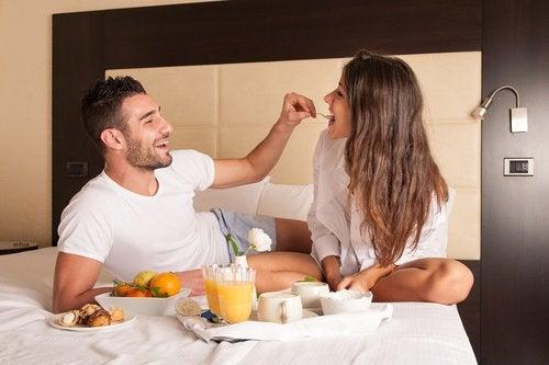 Eten in Bed