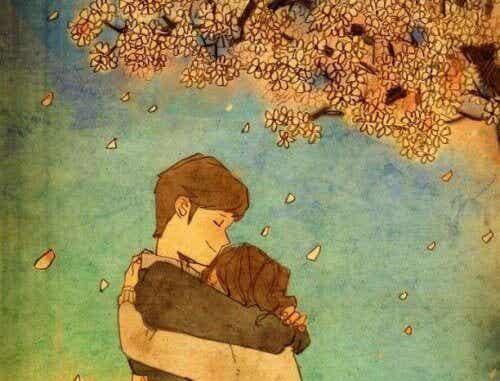 Niets is zo troostend als een knuffel