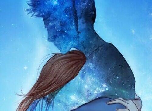 Soms is een knuffel het enige wat je nodig hebt