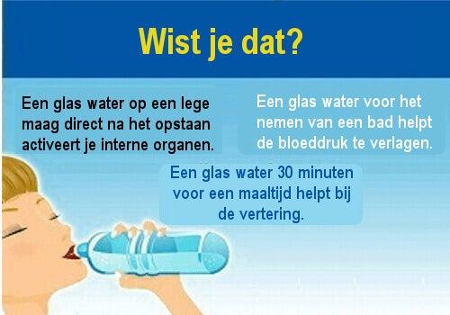 10 voordelen van water op een lege maag drinken