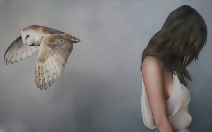 Uil vliegt wel van vrouw