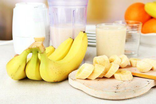 Bananen en Melk