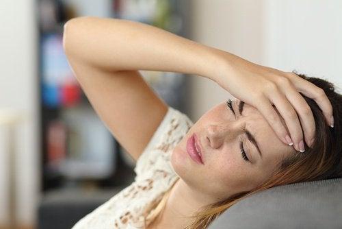 Hoofdpijn kan een van de symptomen zijn als je glutenintolerant bent