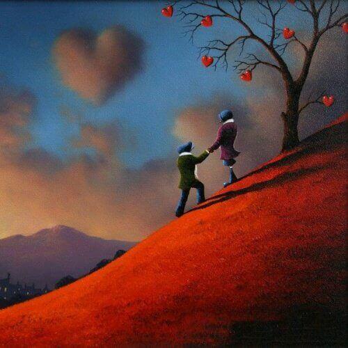 Het is belangrijk om liefde te laten zien en te voelen