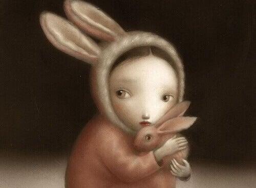 meisje-met-konijn