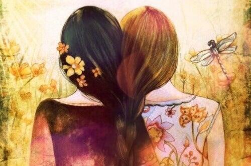 meisjes-samen