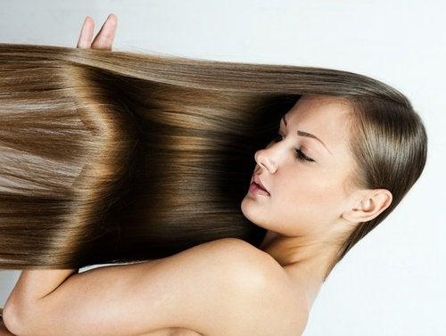 Steil Haar