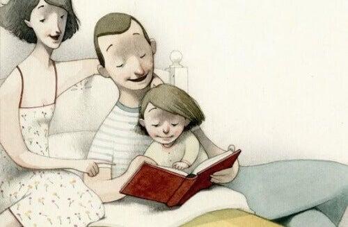 Voorlezen in kindertijd