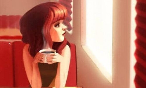 vrouw-met-koffie