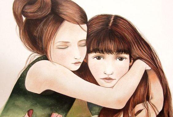 Een zus is meer dan een vriendin, ze is de helft van ons hart