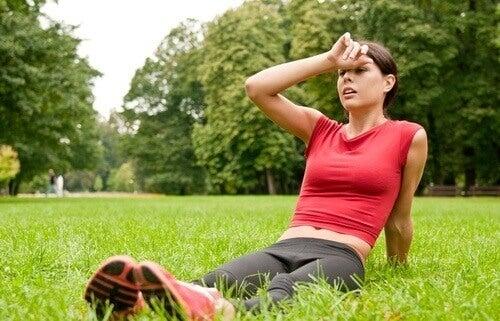 Een koude douche helpt herstel na sporten