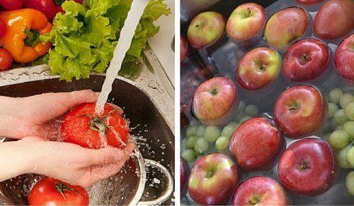 Hoe was je pesticiden van je fruit en groenten