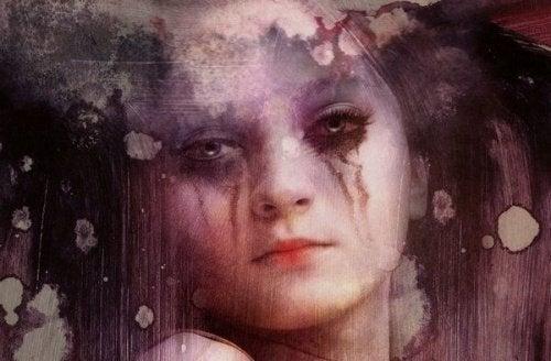 huilende vrouw