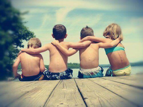 Vriendschap tussen kinderen