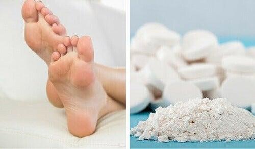 Gebruik aspirine om eelt te verwijderen