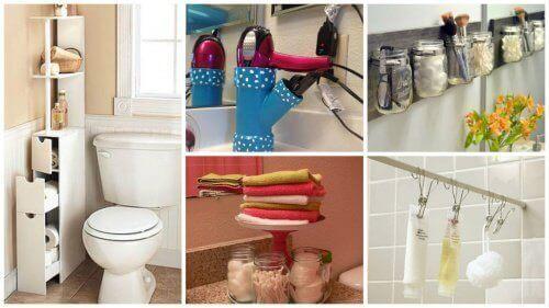Tips om meer ruimte in je badkamer te creëren - Gezonder Leven