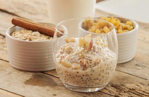 Een energierijk ontbijt met chiazaad en havermout