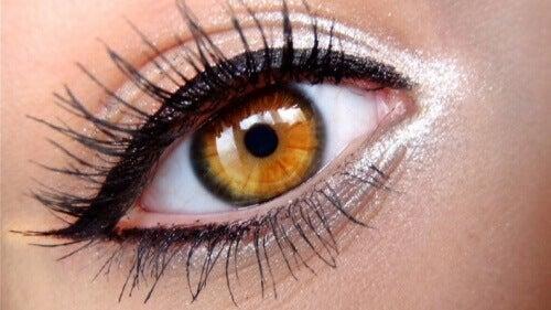 Griekse stijl eyeliner