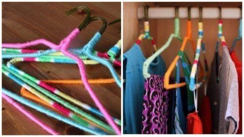 Gekleurde Hangers