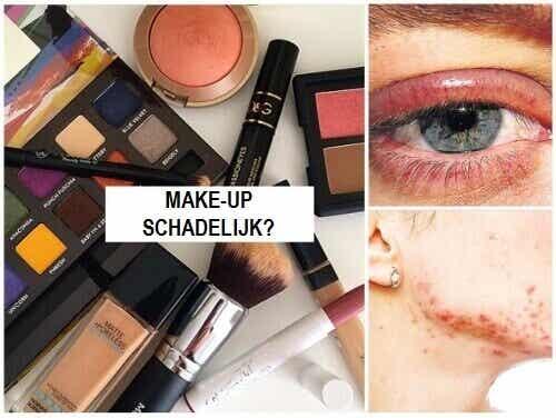 Vijf manieren waarop make-up schadelijk kan zijn