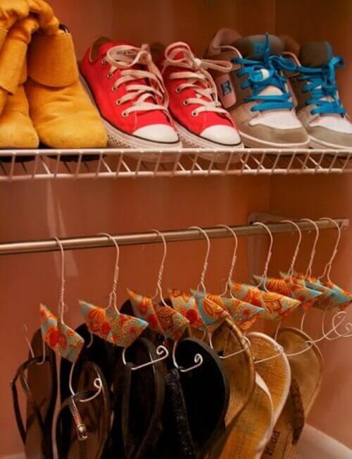 Schoenen Ophangen