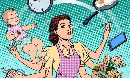 Het hebben van een echtgenoot zorgt voor 7 uur meer werk per dag