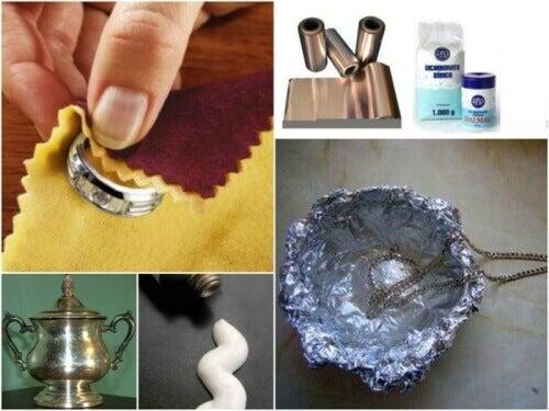 zeven trucjes om zelf thuis zilver schoon te maken - gezonder leven