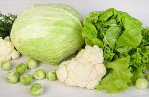 Je lever zuiveren met groene groenten