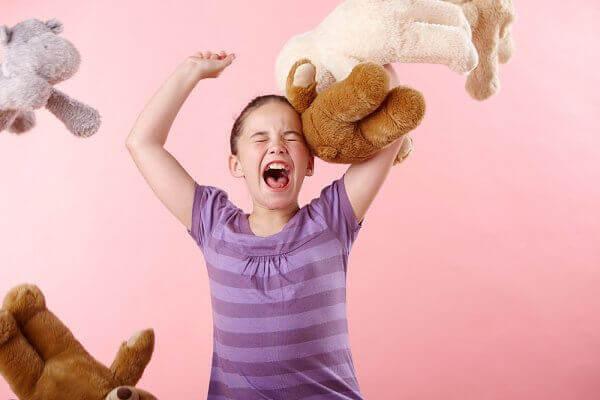 kind met woedeaanval
