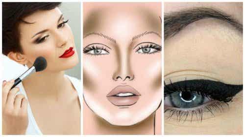 Vijf make-uptrucjes voor een dunner uitziend gezicht