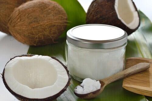 Kokosolie voor meer volume