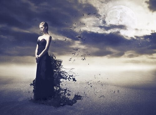 Negatieve Emoties donkere wolken