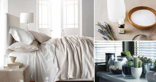 Acht trucjes om je slaapkamer te desinfecteren