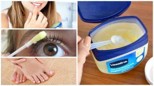 Twaalf cosmetische gebruiksmogelijkheden van vaseline